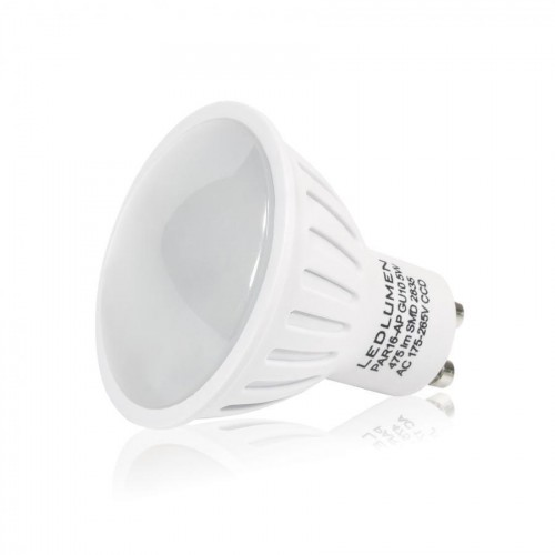 LED žárovka 5W 6xSMD2835 GU10 470Lm CCD TEPLÁ