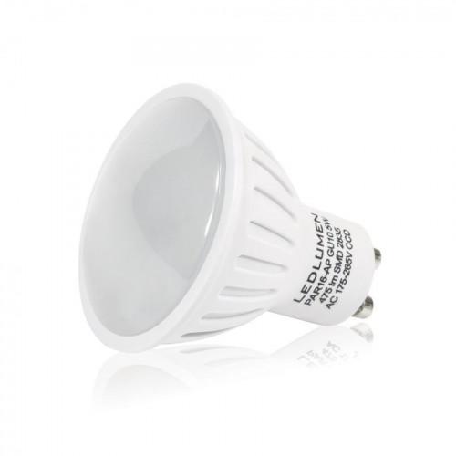 LED žárovka 5W 6xSMD2835 GU10 500Lm CCD TEPLÁ