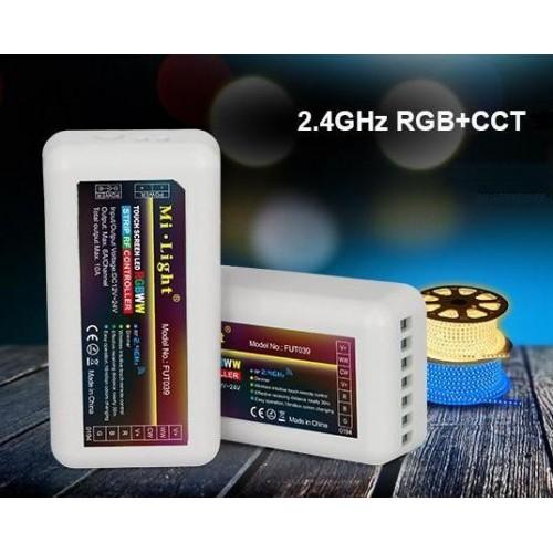 Přijímač dálkového ovládání RGB+CCT, 4 zóny