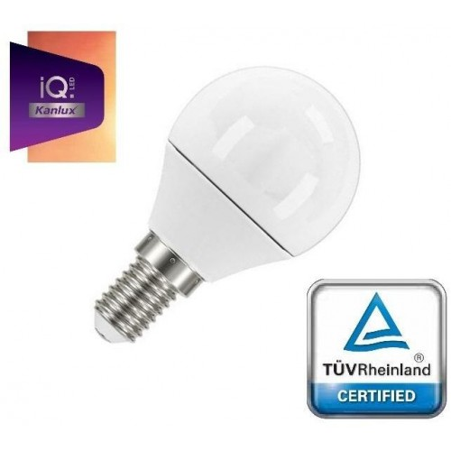LED žárovka IQ-LED Kanlux 27301 E14 5,5W 490lm NEUTRÁLNÍNONODÁREK ZDARMA