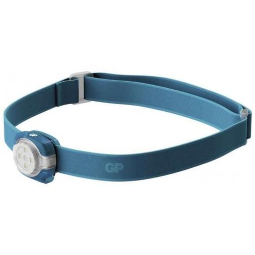 LED čelovka a světlo GP Everybody CH31, 40 lm, modrá
