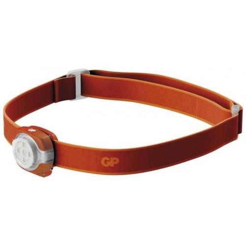 LED čelovka a světlo GP Everybody CH31, 40 lm, oranžová