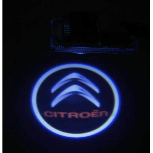 LED logo projektor CITROEN C2 C3 C4 C5 C6 C8 Xantia Xsara Saxo