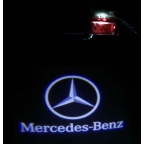 LED logo projektor MERCEDES-BENZ A B C E ML GL
