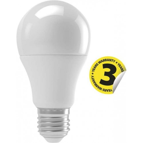 LED žárovka E27 9W Classic A60 pohybový senzor teplá bílá