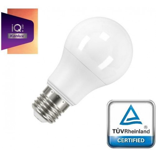LED žárovka IQ-LED Kanlux 27273 E27 A60 9W 810lm STUDENÁ