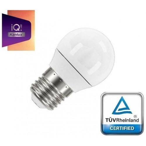 LED žárovka IQ-LED Kanlux 27303 E27 5,5W 470lm TEPLÁ