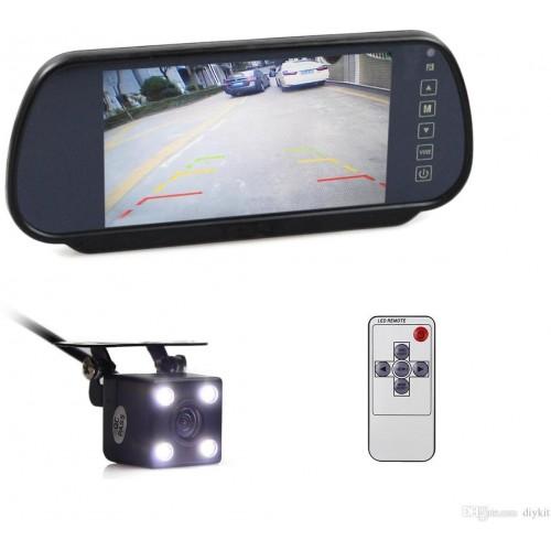 LCD monitor na zpětné zrcátko pro couvací kamery  7&quot,