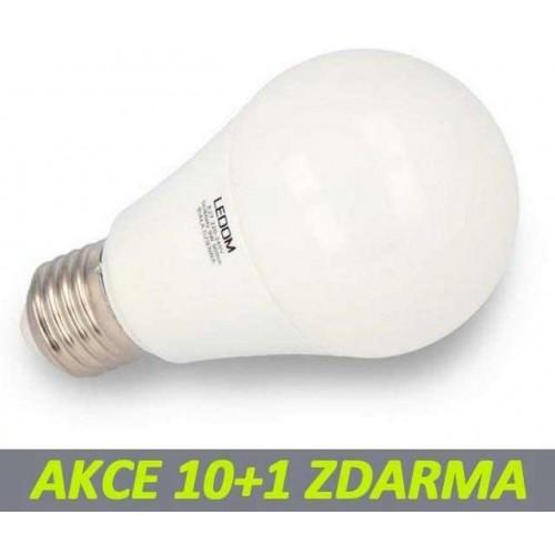 LED žárovka 12W SMD2835 1212lm E27 CCD TEPLÁ