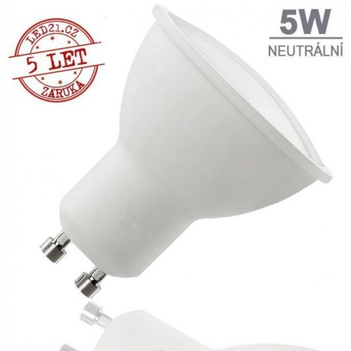 LED žárovka 5W 9xSMD2835 GU10 320lm NEUTRÁLNÍ