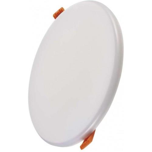 LED panel 185mm, kruhový vestavný bílý, 18W neutr. b., IP65