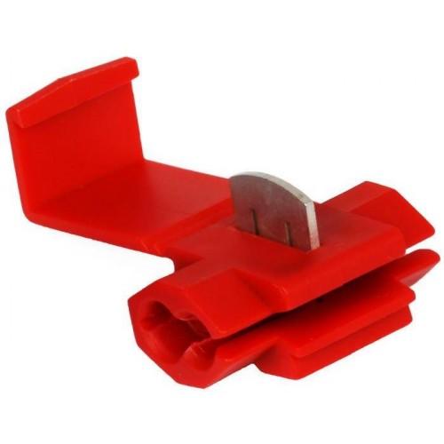 Rychlospojka pro kabely 0,5-1,5mm, červená
