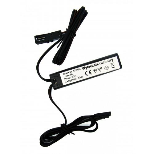 Spínač se stmívačem 3v1 s IR senzorem pro LED pásky a žárovky, 60W