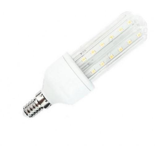 LED žárovka 9W 60xSMD2835 E14 B5 3U 810lm TEPLÁ