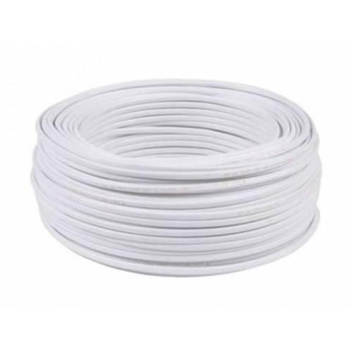 Kabel dvoulinka 0,5mm2 pro napojení LED pásků, bílá