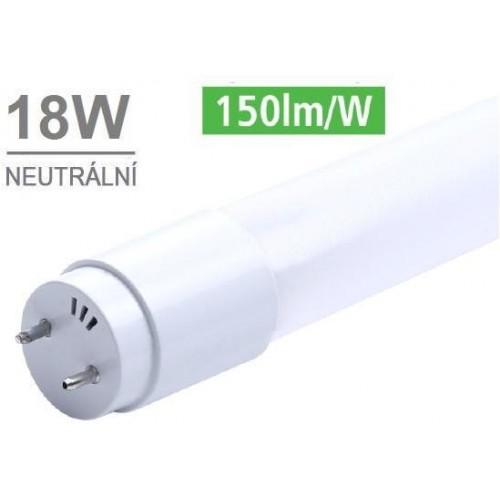 LED trubice T8 120cm 18W 2700lm CCD 4100K NEUTRÁLNÍ