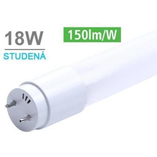 LED trubice T8 120cm 18W 2700lm CCD 6500K STUDENÁ