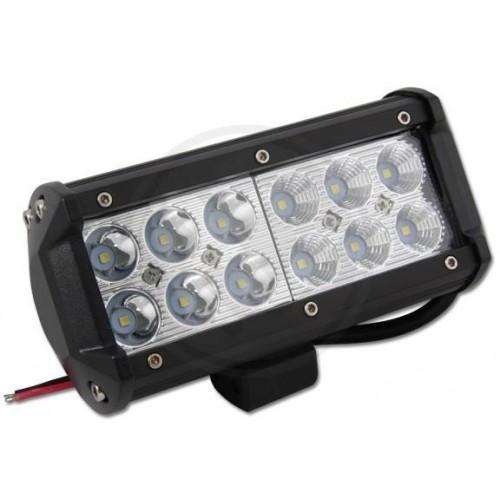 LED svítidlo pracovní podélné 36W 12xSMD voděodolné, otřesuvzdorné