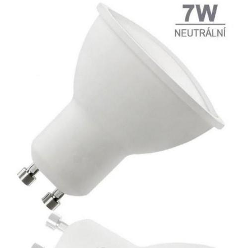 LED žárovka 7W 12xSMD2835 GU10 581lm NEUTRÁLNÍ BÍLÁ