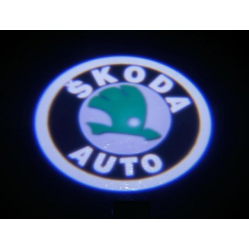 LED logo projektor ŠKODA SUPERB, ROOMSTER, YETI
