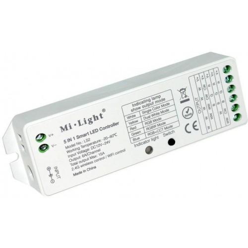 Přijímač dálkového ovládání 5v1 RGB-WW-CW , 8 kanálů