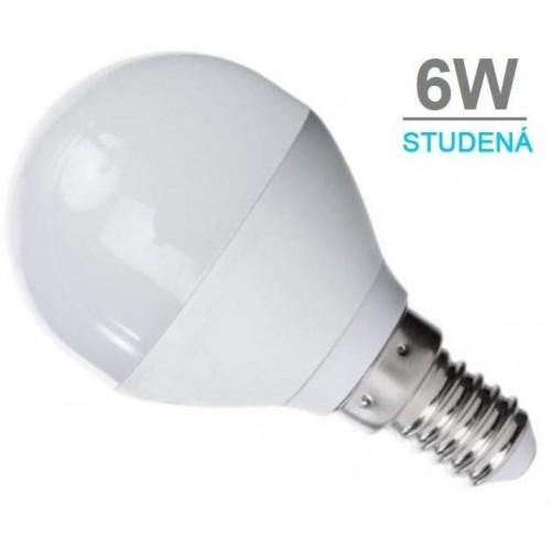 LED žárovka 6W 12xSMD2835 480lm E14 CCD STUDENÁ