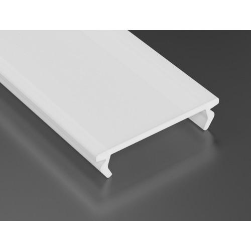 Mléčný difuzor DOUBLE pro profily LUMINES 1m