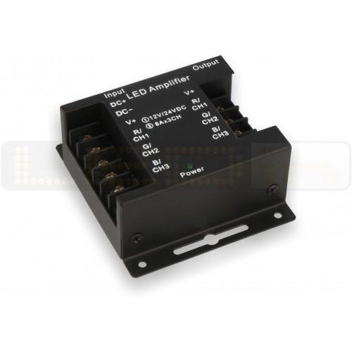 Zesilovač signálu LED RGB 12V-24V, 24A