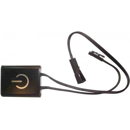 Spínač s IR senzorem pro LED pásky a žárovky MINI, 2,5A 36W (mávnutí rukou), rychlospojky