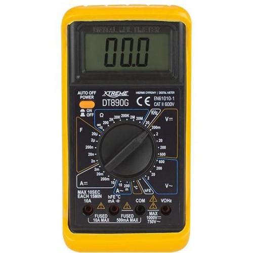 Multimetr - digitální měřič DT890G XTREME
