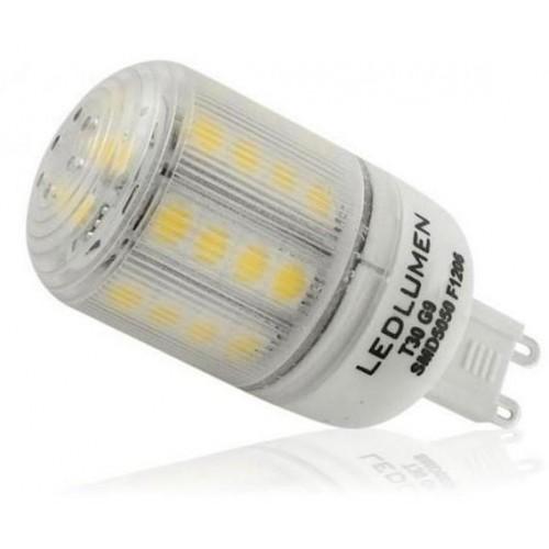 LED žárovka 4,5W 31xSMD G9 360lm TEPLÁ BÍLÁ