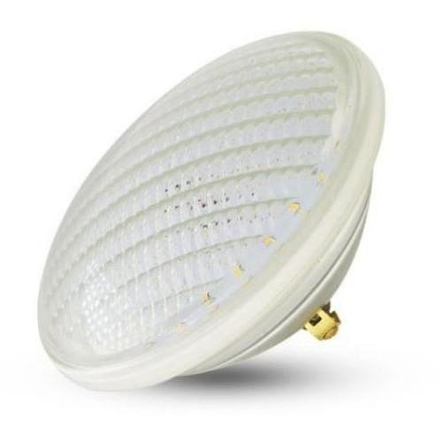 LED bazénová žárovka, 12W (1200lm), PAR56, 12V, IP68, TEPLÁ