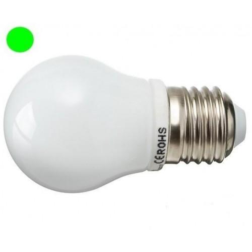 LED žárovka 2,5W 8xSMD2835 E27 200lm ZELENÁ