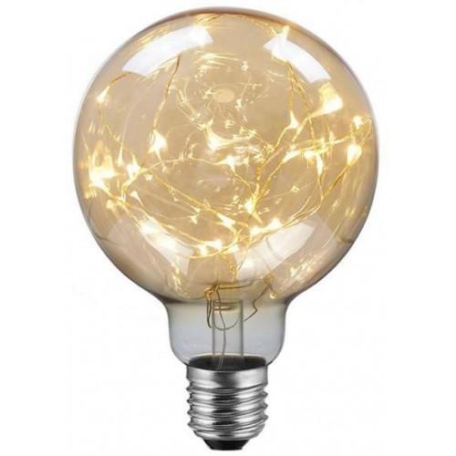 LED žárovka 2W A thousand Lights Gold  E27 G95 40lm CCD ULTRA TEPLÁ BÍLÁ