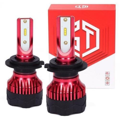 LED auto žárovka H7 K5 GT COB 2x40W s aktivním chladičem 2x8000lm