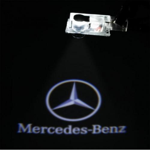 LED logo projektor Mercedes-Benz C W203 CLK W209 SLK R171 SLR R199 W240