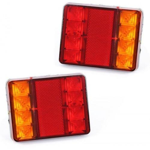 LED zadní světla pro přívěsy, návěsy, zemědělské a stavební stroje 12V