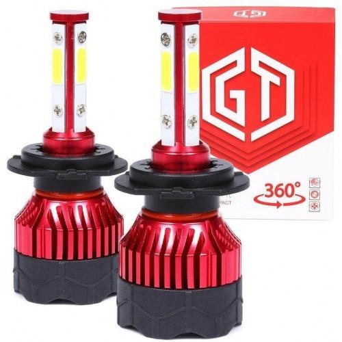 LED auto žárovka H7 360-K5 GT COB 2x40W s aktivním chladičem 2x10000lm