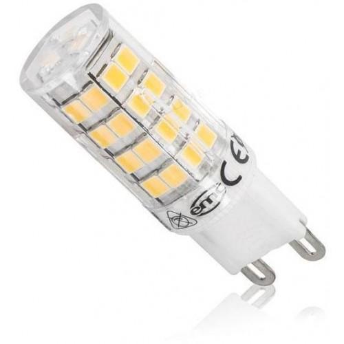 LED žárovka 4W 51xSMD2835 G9 470lm TEPLÁ BÍLÁ