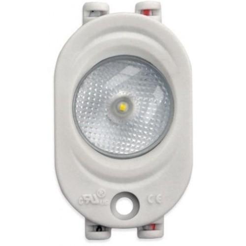 LED Modul OPTO 1xSMD 2835 1W 95lm 12V 170° STUDENÁ BÍLÁ