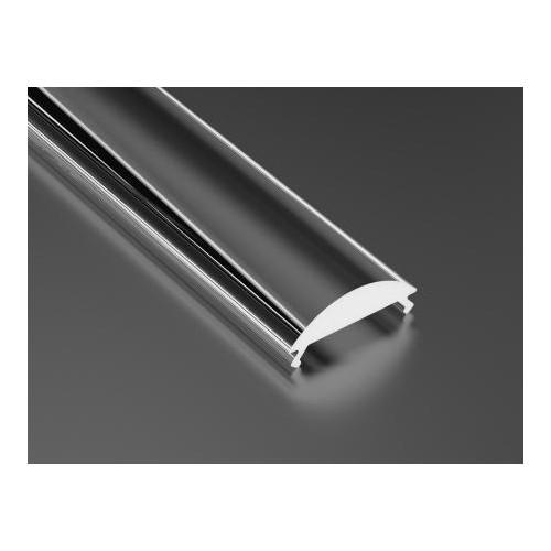 Transparentní difuzor KLIK PMMA 15 LENS pro profily LUMINES A/B/C/D/Y/Z 1m
