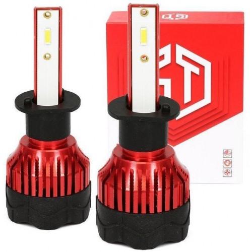 LED auto žárovka H1 K5 GT COB 2x40W s aktivním chladičem 2x8000lm
