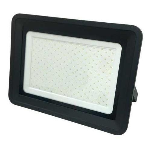 LED reflektor PREMIUM BLACK černý 200W CCD SMD2835 17000lm SLIM STUDENÁ