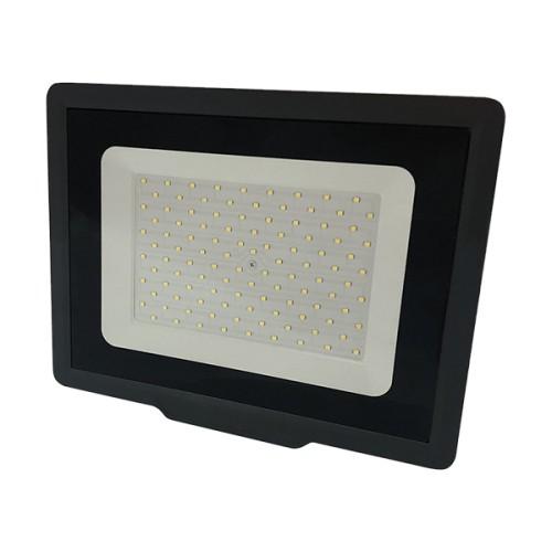 LED reflektor City Line 100W SMD2835 8000lm SLIM TEPLÁ