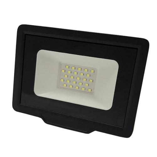LED reflektor CITY LINE, černý 50W 4000lm NEUTRÁLNÍ BÍLÁ