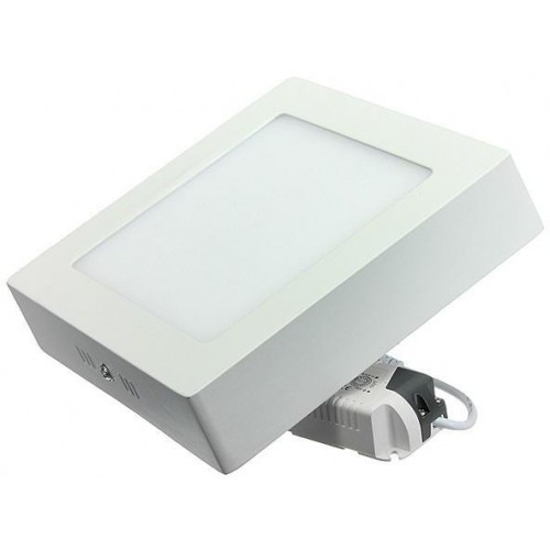 LED panel přisazený 18W 220x220mm CCD TEPLÁ BÍLÁ