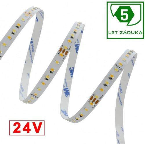 LED pásek 5m 120ks/m 2835 24V 23W/m CCT
