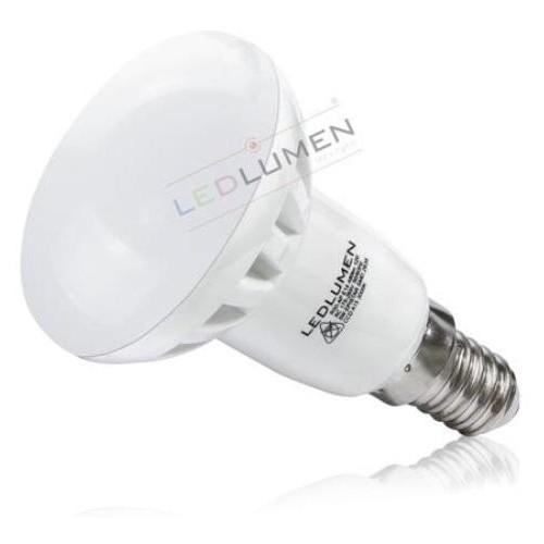 LED žárovka 5W 6xSMD 2835 CCD E14 520 lm STUDENÁ BÍLÁ