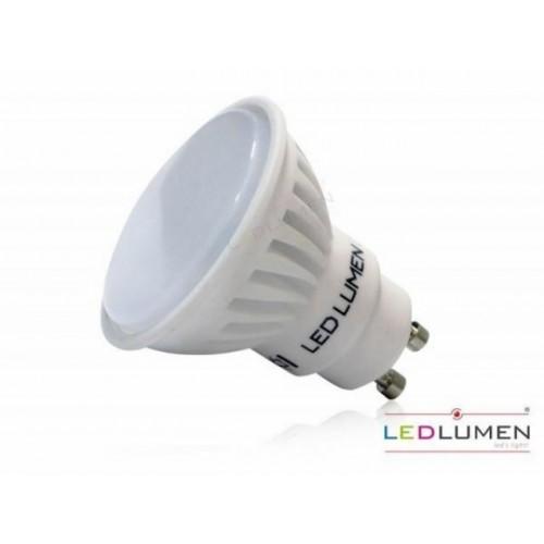 LED žárovka 8W 10xSMD2835 GU10 840lm CCD NEUTRÁLNÍ