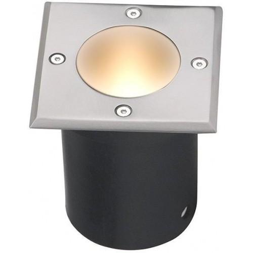Nájezdové bodové svítidlo STRONG-K, 230V 1xGU10 ip65 čtvercové